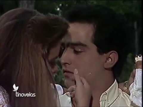 Omar Fierro y Lucero. Primeros besos en Cuando llega el amor
