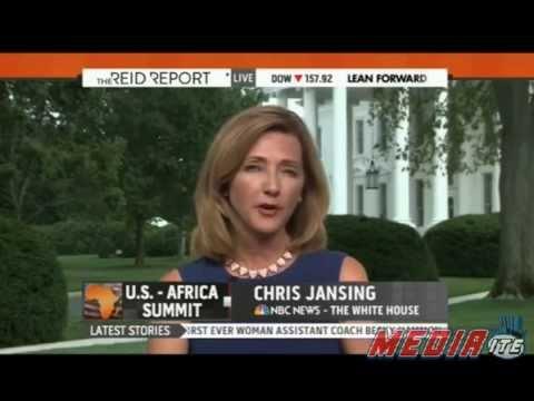 "Chris Jansing: ""Yeah, the fact that he's from Kenya..."""