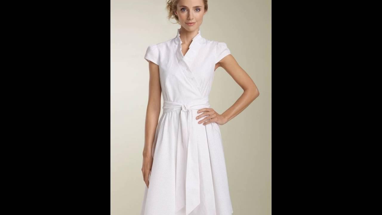 Vestido blanco para oficina