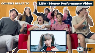 Cousins React To Lisa Money Exclusive Performance