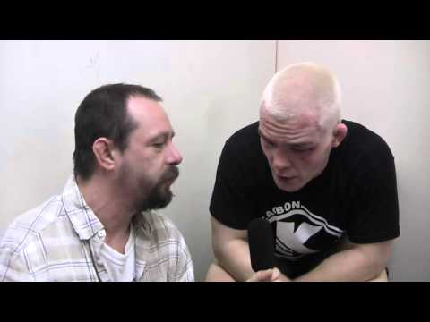 Post fight Interview with Ali Maclean at ICE FC 11