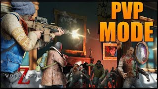 PVP MODE!! NEW GAMEPLAY OF COOP MODE (WORLD WAR Z) GUNS, SYSTEM DEFENSES & MORE! XB1, PS4 & PC! WWZ
