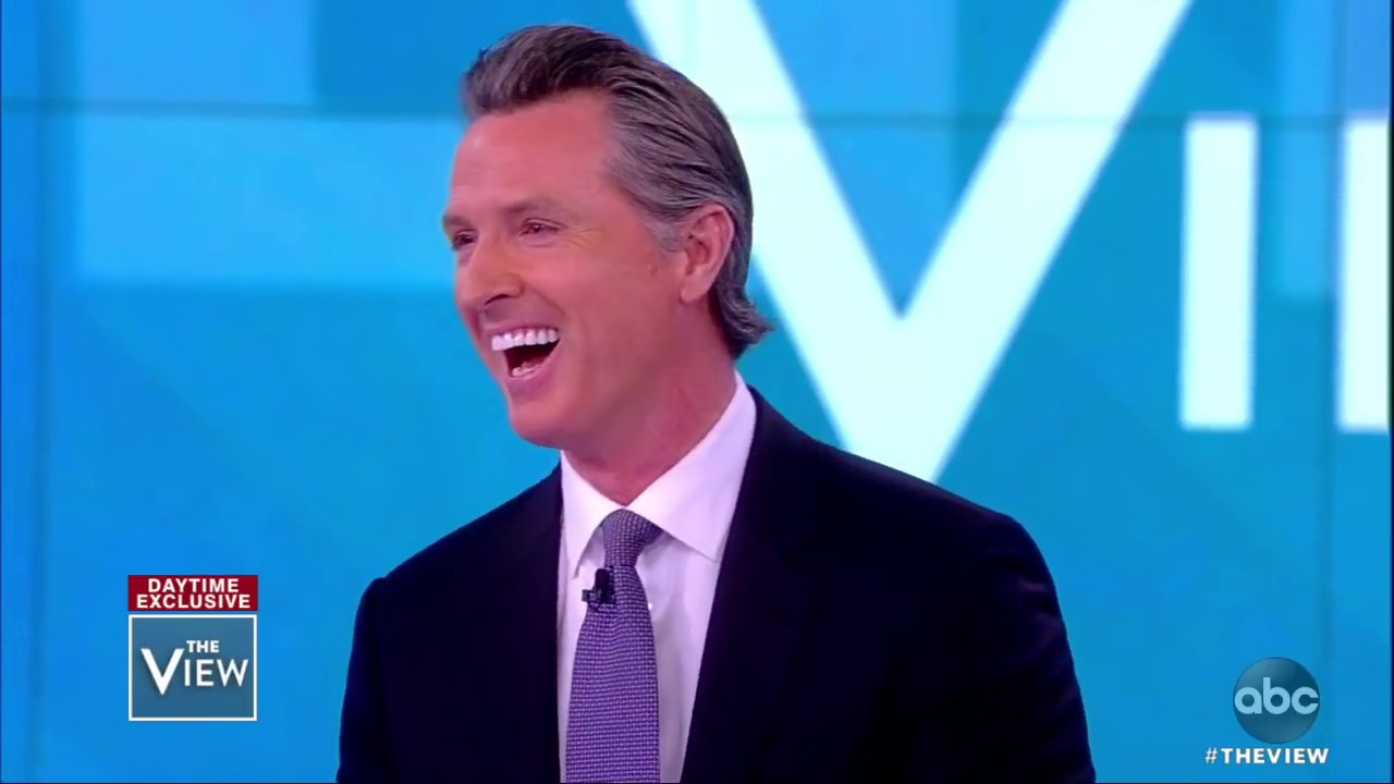 Gavin Newsom on Death Penalty, Border and Toxic Masculinity | The View