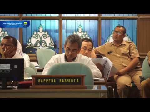 161019 Wakil Walikota Bandung menghadiri Rakor Tim Koordinasi Kemiskinan TKPK Provinsi Jawa Barat Ta