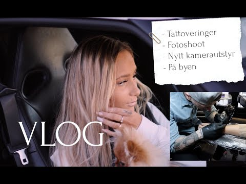 VLOG// Tatovert et navn på hånda!? (A)