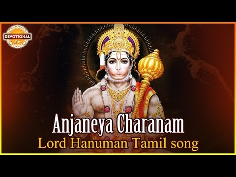 Lord Hanuman Tamil Devotional Songs | Anjaneya Charanam Tamil Song | Devotional TV