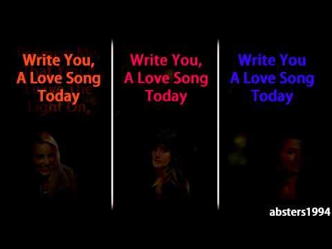 Love Song - Glee Cast - Lyrics