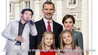 Marcelito Pomoy singing Despacito & The Prayer (ft. Royal Fa...