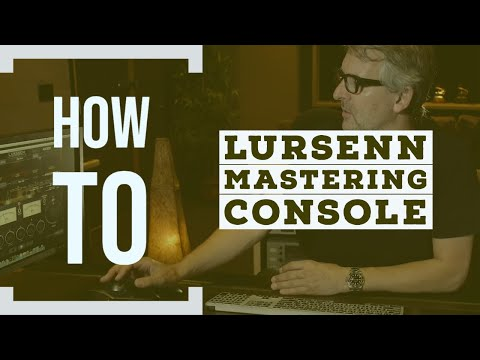 How to use the Lurssen Mastering Console | AlexProMix.com