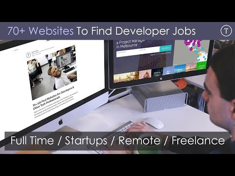 70+ Websites To Find Developer Jobs