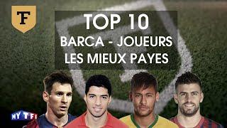 Top 10 : Les joueurs les mieux payés du Barça