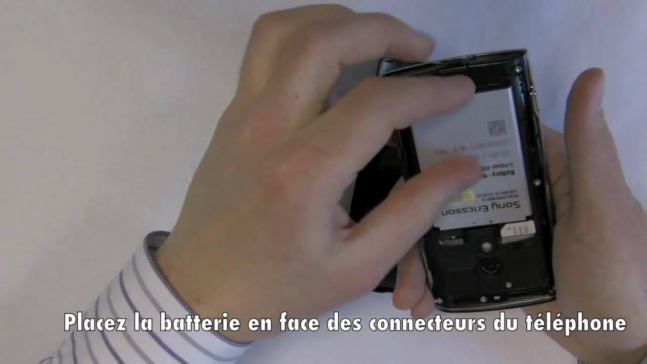 sony xperia carte sim Sony Ericsson Xperia X10   Installer une carte SIM   YouTube
