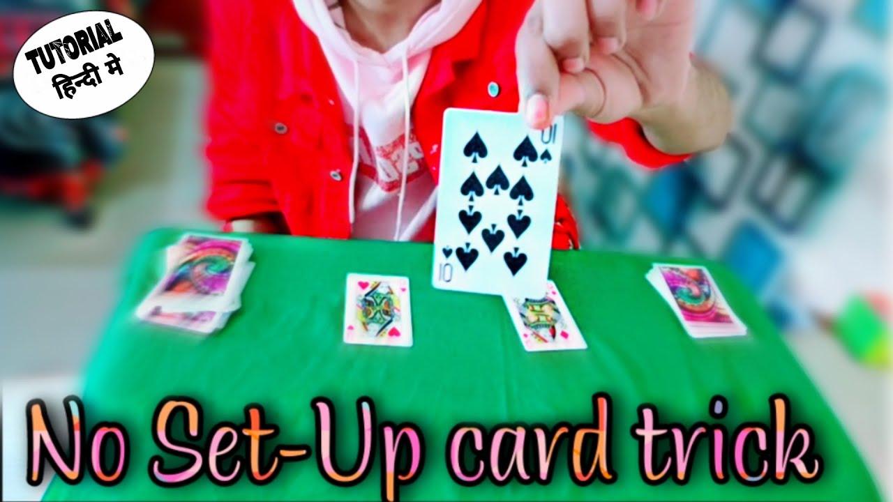 Download No Set-Up card trick Tutorial / in HINDI | Saheer Magician |