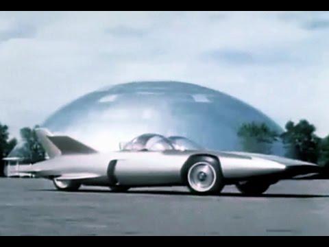 GM Firebird lll Gas Turbine Car Promo Film - 1958