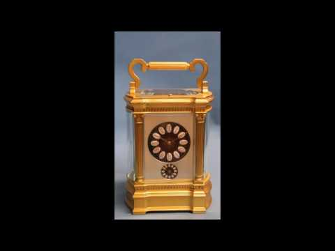 French Bow sided Carriage Clock