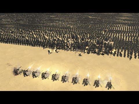 10 MG vs 5000 GERMAN INFANTRY - Men of War Assault Squad 2 |