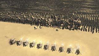 10 MG vs 5000 GERMAN INFANTRY - Men of War Assault Squad 2