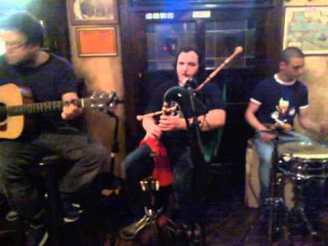 Italian Irish Folk Blind Singer And Player