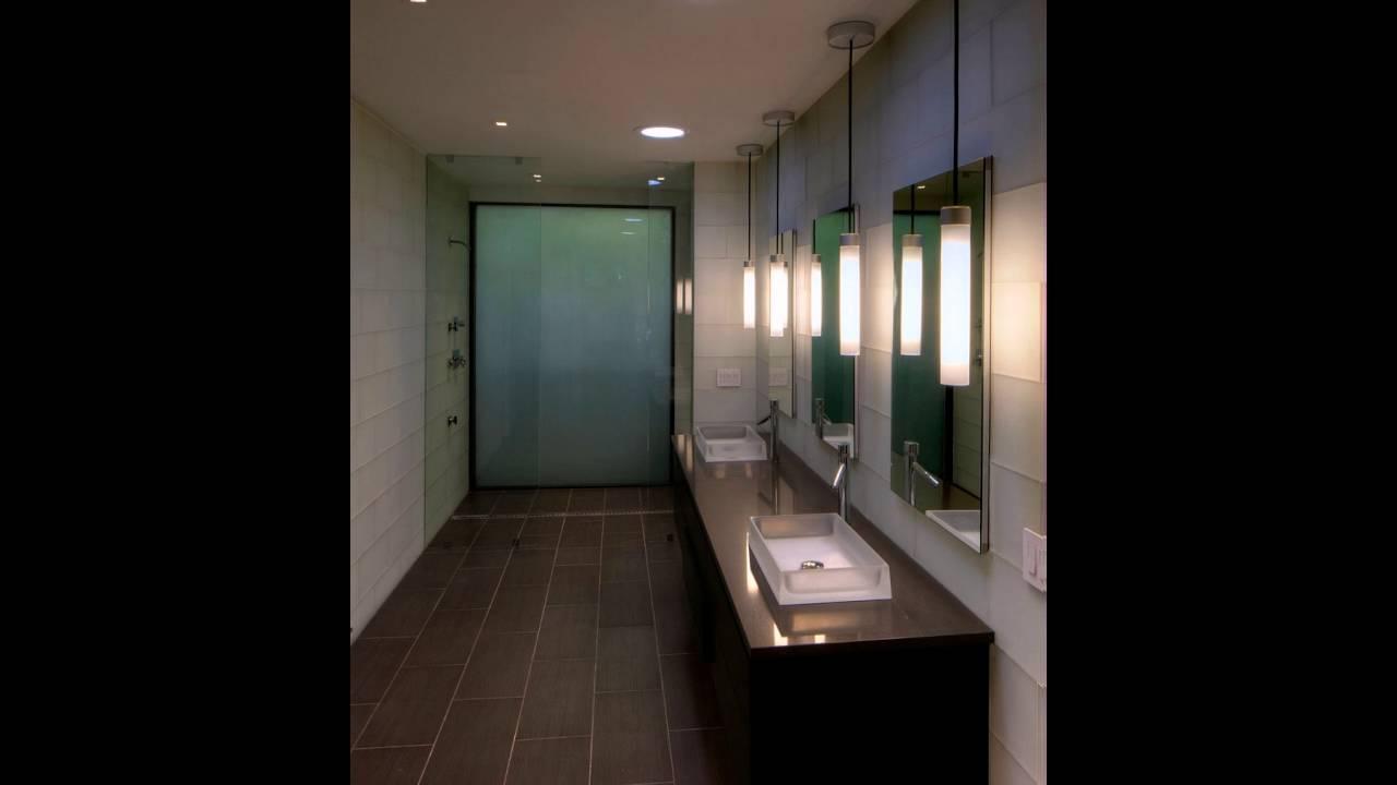 Moderne badezimmer mit floating waschtisch und zwei waschbecken youtube - Badezimmer zwei waschbecken ...