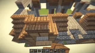 Casa Medieval Minecraft Tutorial 3