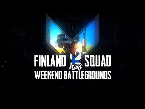 XPUBG Finland Squad Weekend Battlegrounds -finaali (29.4.2018)