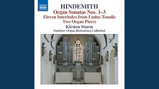 Organ Sonata No. 1: II. Sehr langsam -