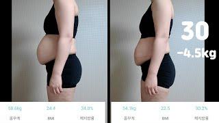 출산 7개월 모유수유 중. 운동 없이 간헐적 다이어트 …