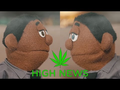 High News - 'Weed and Trump' (Ep. 4) | Awkward Puppets