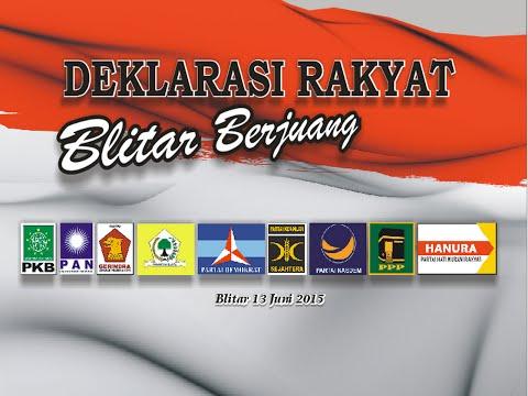 Deklarasi Rakyat Blitar Berjuang 2015_Jatimnet