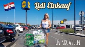 Lidl Wocheneinkauf in Kroatien 🇭🇷 & Gang über den Markt 🍎🍐 | SarahxFit