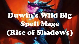 Hearthstone [WILD] Duwin's Big Spell Khadgar Mage / Spinning AstralsFlame's Wheel of Wonder  (1080p)