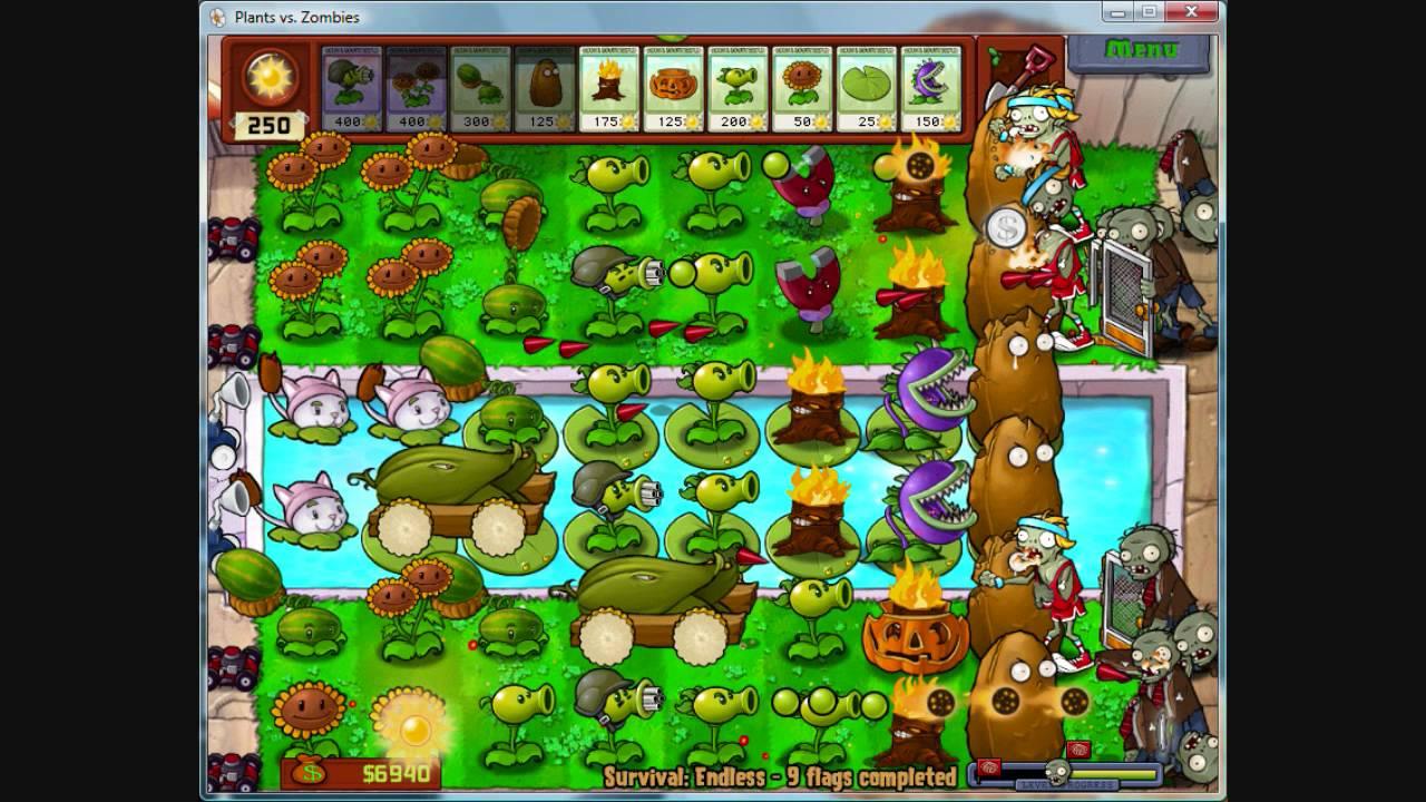 Plants Vs  Zombies Music - Pool Daytime