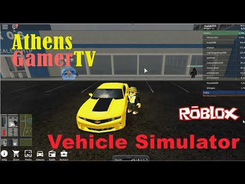 Roblox Vehicle Simulator - Bumblebee AthensGamerTV by Athens Thanakrit