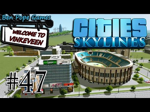 Cities: Skylines - (European Themed City) - #47 New International District