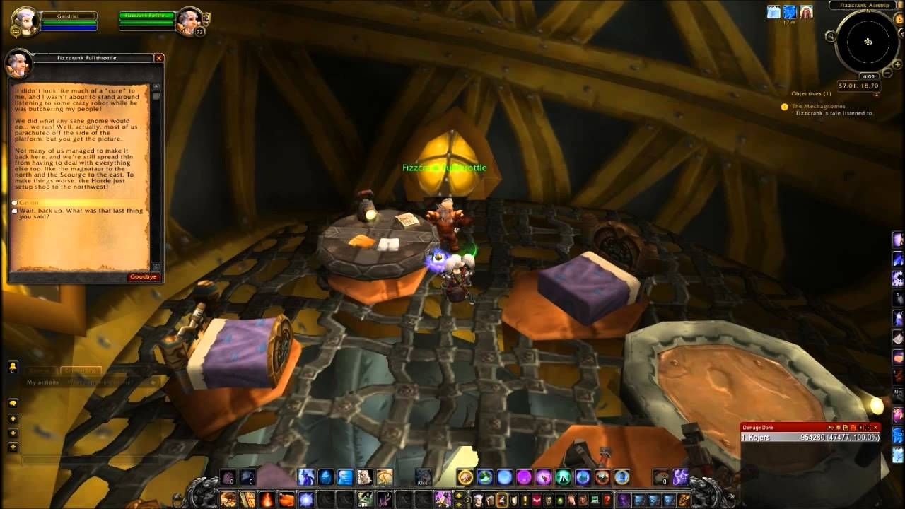 The Mechagnomes Quest World Of Warcraft YouTube