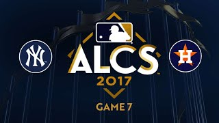 Astros blank the Yankees, advance to the World Series - 10/21/17