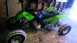 Quad 4 wheeler atv with honda cbr 600cc motor
