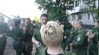Война видео Украина Донбас  АТО Как Ополченец Гиви празднует день рождения ДНР Donbass   YouTube