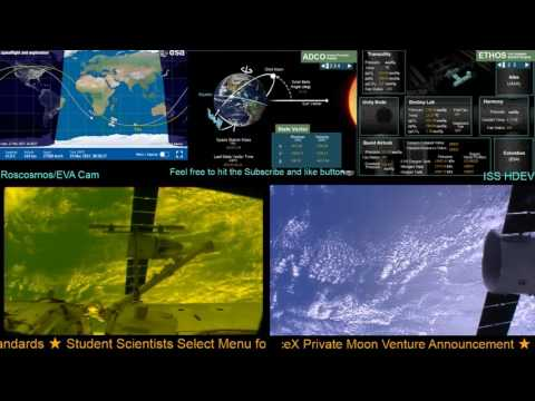 Dragon-X Departure from International Space Station 17-03-2017 Live