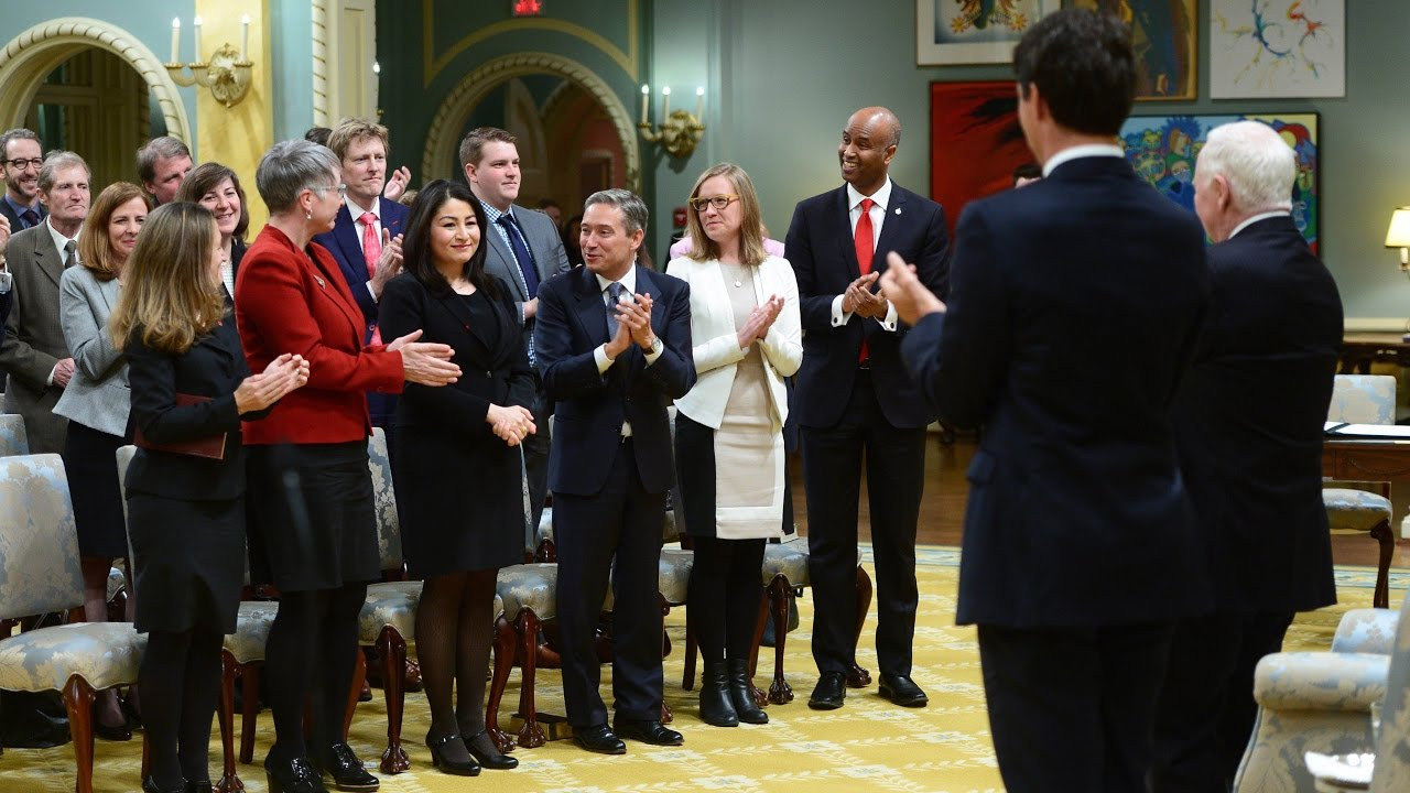 Trudeau's first cabinet shuffle - YouTube
