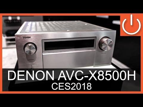 DENON AVC-X8500H 13.2 Receiver - CES 2018 - Thomas Electronic Online Shop - AVC-X8500