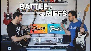 Battle Of The RIFFS: LES PAUL vs STRATOCASTER