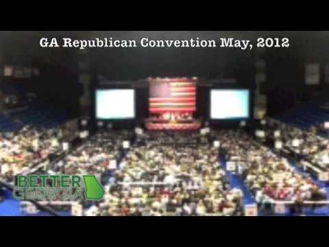Georgia GOP Convention Cheers for Agenda 21 Conspiracy Theory