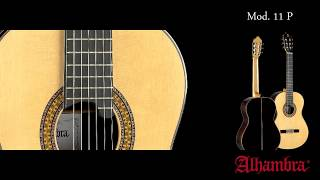 VIDEO TEST – Modelo 11 P Guitarras Alhambra