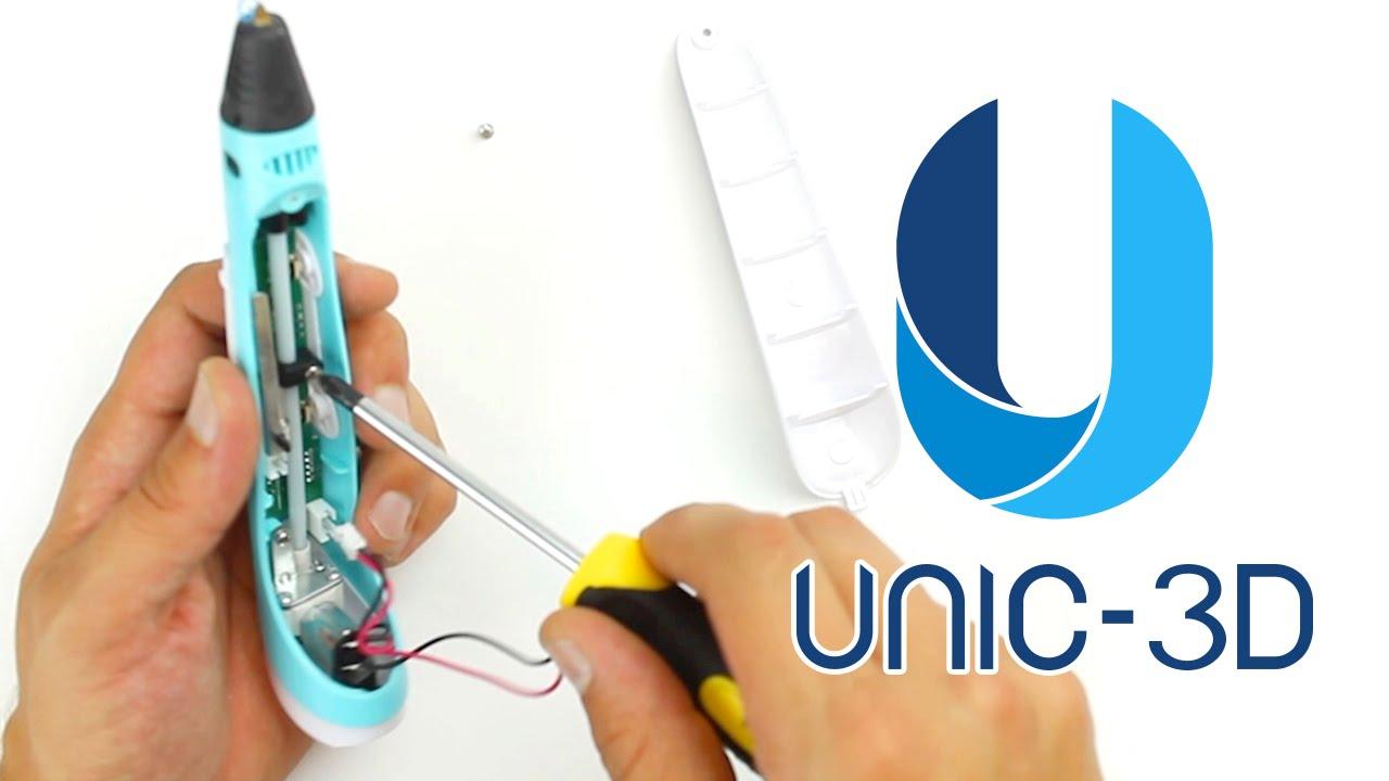 Repair Fix Clean Disassemble Clogged 3d Pen Myriwell Scribbler Polaris 50 Wiring Diagram Youtube