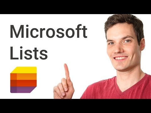 How to use Microsoft Lists