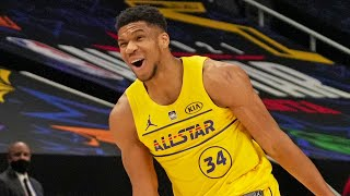 Mic'd Up: Giannis Antetokounmpo NBA All-Star 2021 | Kobe Bryant All-Star MVP