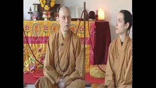 Intervista a Monaco Shaolin su alimentazione  Vegana ecc...