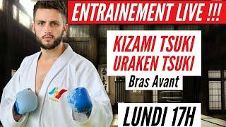 Entrainement Karate Live !!! Kizami Tsuki - Uraken Tsuki !!!