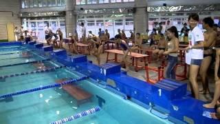 2011藍鯨游泳錦標賽國小中年級女子25M仰式